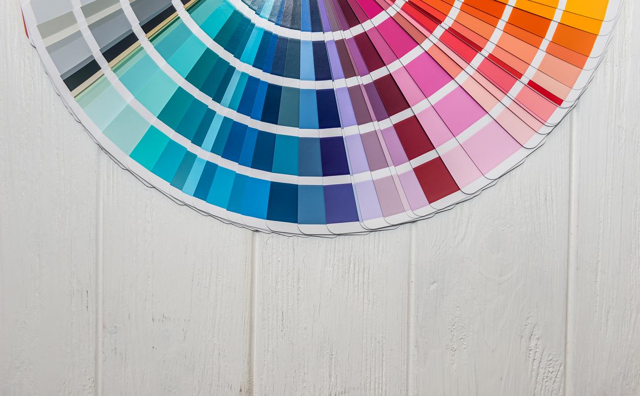 Contemporary kitchen color palettes