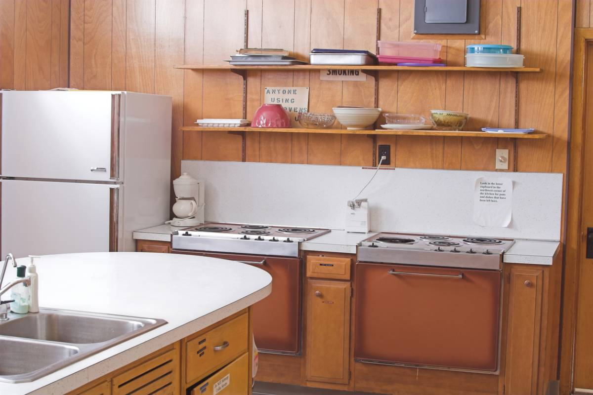 How to modernize an outdated kitchen.